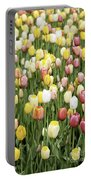 Tulip Garden Portable Battery Charger