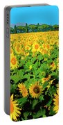 Tuscany Sunflowers Portable Battery Charger