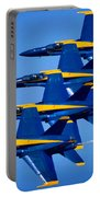 Us Navy Blue Angels Portable Battery Charger