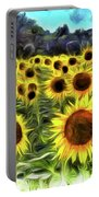 Van Gogh Sunflowers Portable Battery Charger