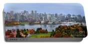 Vancouver In Fall Portable Battery Charger