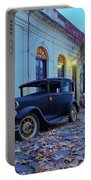 Vintage Cars In Colonia Del Sacramento, Uruguay Portable Battery Charger