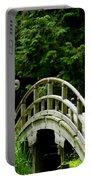 Virginia Bridges -japanese Garden Portable Battery Charger