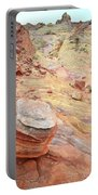 Wash 3 Color In Valley Of Fire Portable Battery Charger