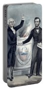 Washington And Lincoln Portable Battery Charger