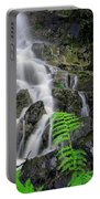 Waterfall In Cradle Mountain Portable Battery Charger