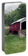 West Union Covered Bridge, Indiana Portable Battery Charger