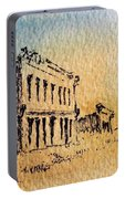 White Oaks Ghost Town New Mexico Portable Battery Charger