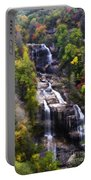 Whitewater Falls In Nc Portable Battery Charger