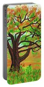 Willow Tree, Painting Portable Battery Charger