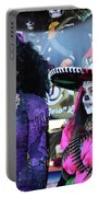 2 Women Day Of The Dead  Portable Battery Charger