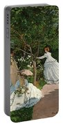 Women In The Garden Portable Battery Charger