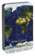 World Map Portable Battery Charger