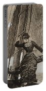 Yachting Girl Portable Battery Charger