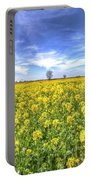 Yellow Fields Of Summer Portable Battery Charger