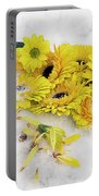 Yellow Gerbers Portable Battery Charger