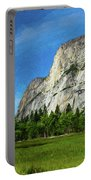 Yosemite Valley Meadow Panorama Portable Battery Charger