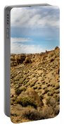 Rocks, Mountains And Sky At Alabama Hills, The Mobius Arch Loop  Portable Battery Charger