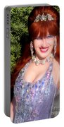 20000 Dollar Dress Of Sofia Metal Queen Portable Battery Charger