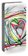 2010 Abstract Drawing Eighteen Portable Battery Charger