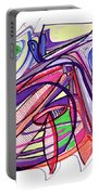 2010 Abstract Drawing Eleven Portable Battery Charger