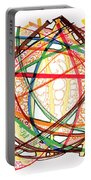 2010 Abstract Drawing Fifteen Portable Battery Charger