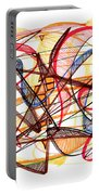 2010 Abstract Drawing Fourteen Portable Battery Charger