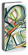 2010 Abstract Drawing Seventeen Portable Battery Charger