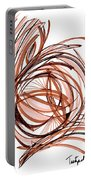 2010 Abstract Drawing Six Portable Battery Charger
