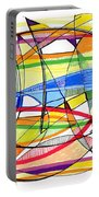 2010 Abstract Drawing Sixteen Portable Battery Charger