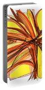 2010 Abstract Drawing Thirteen Portable Battery Charger