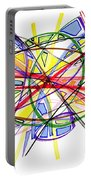 2010 Abstract Drawing Twelve Portable Battery Charger