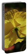 2011, Yellow Poppy Portable Battery Charger