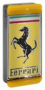 2012 Ferrari Hood Emblem Portable Battery Charger