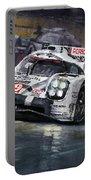 2015 Le Mans 24 Lmp1 Winner Porsche 919 Hybrid Bamber Tandy Hulkenberg Portable Battery Charger