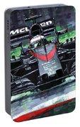 2015 Mclaren Honda F1 Austrian Gp Alonso  Portable Battery Charger