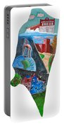 2016 Dc Ward Story Collection - Ward 8 Of 8 Portable Battery Charger