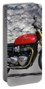 2016 Triumph Cafe Racer Motorcycle Portable Battery Charger