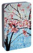 201726 Cherry Blossoms Portable Battery Charger