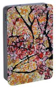 201727 Cherry Blossoms Portable Battery Charger