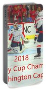 2018 Stanley Cup Champions Washington Capitals Portable Battery Charger