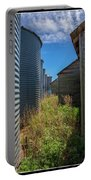 Back Alley On The Prairies Portable Battery Charger