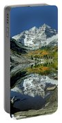 210426 Maroon Bells Reflect  Portable Battery Charger