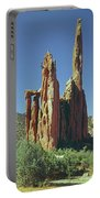 210806-h Spires In Garden Of The Gods Portable Battery Charger