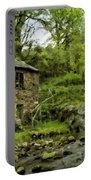 Oil Landscape Art Portable Battery Charger