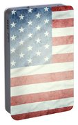 American Flag 37 Portable Battery Charger