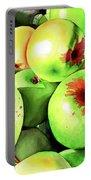 #227 Green Apples Portable Battery Charger
