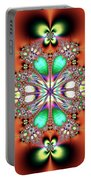 Fractal Art Portable Battery Charger
