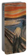 The Scream Portable Battery Charger