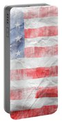 American Flag 14 Portable Battery Charger